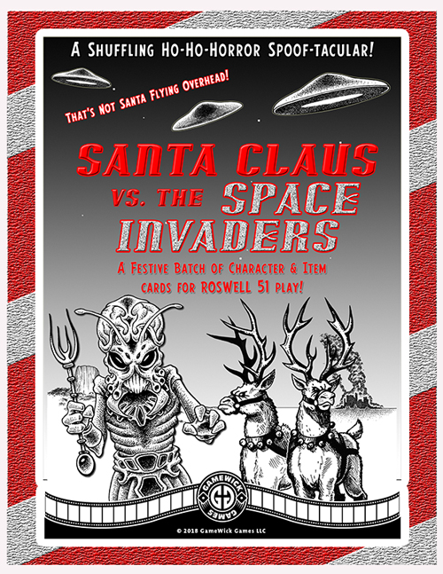 Roswell 51: Santa Claus vs The Space Invaders