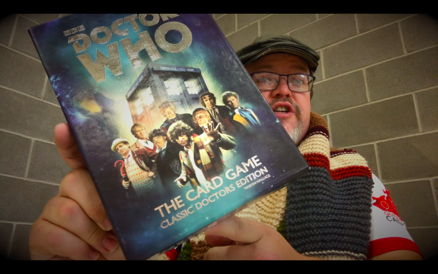 (Video) DW: The Card Game Classic Doctors Edition