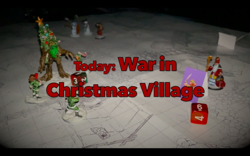 War in Christmas Village (video review)